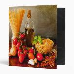 My recipe cookbook - two sided vinyl binder