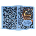 My Recipes 3-Ring Binder with Blueberry Design binder