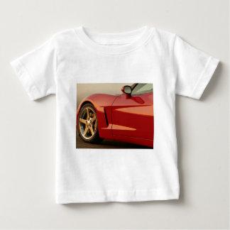 My Red Corvette Baby T-Shirt