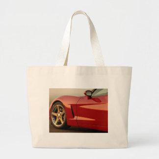 My Red Corvette Canvas Bag