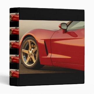 My Red Corvette Binder