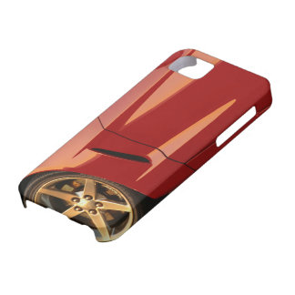 My Red Corvette iPhone 5 Cover