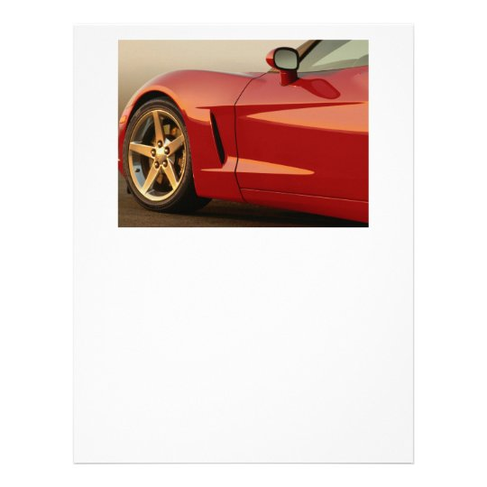 My Red Corvette Letterhead