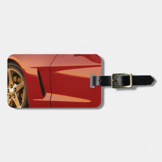 My Red Corvette Luggage Tag