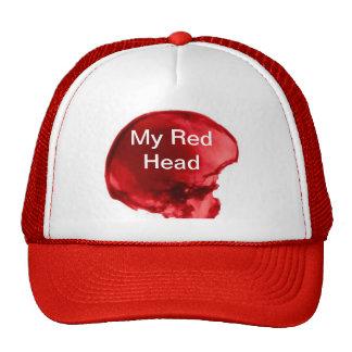 My Red Head Trucker Hats