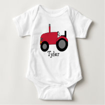 My Red Tractor Baby Bodysuit