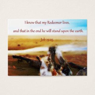 My reedemer sharing Card
