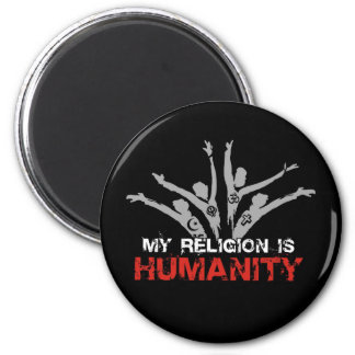 My Religion is Humanity Magnet