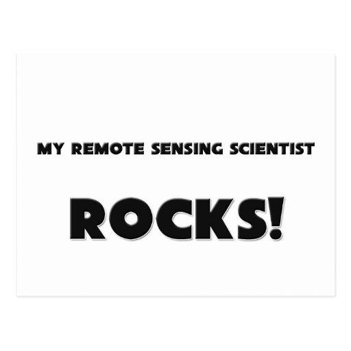 MY Remote Sensing Scientist ROCKS! Postcard