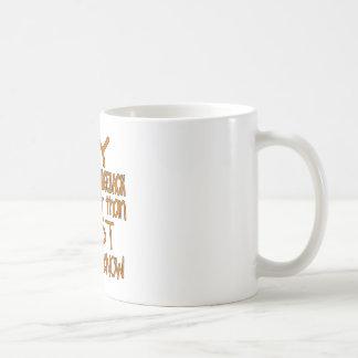 MY RHODESIAN RIDGEBACK IS SMARTER THAN MOST PEOPLE COFFEE MUG