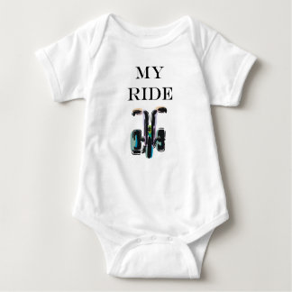 My Ride (Tricycle) Baby Bodysuit