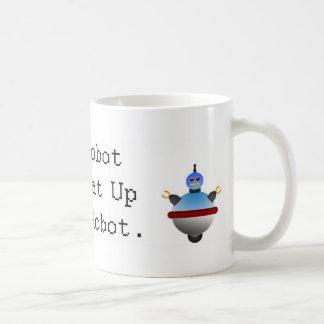 My Robot Can Beat Up Your Robot Coffee Mug