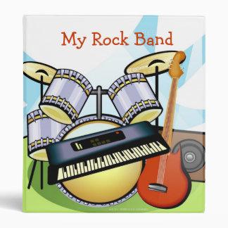 My Rock Band 3 Ring Binder