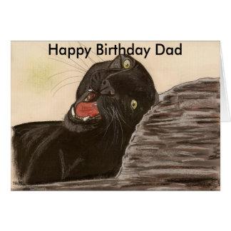My Rock,  Happy Birthday Dad Card