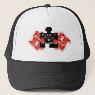 My Rocks Puzzle shape 2 Trucker Hat