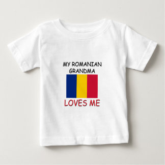 My Romanian Grandma Loves Me Baby T-Shirt
