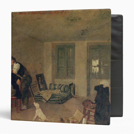 My Room in 1825 3 Ring Binders