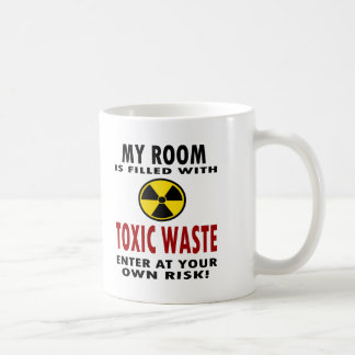 My Room Is Filled With Toxic Waste Classic White Coffee Mug