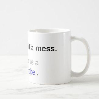 My room isn't a mess. I just have a floordrobe. Mug