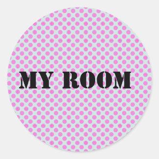 """My Room"" Sticker"