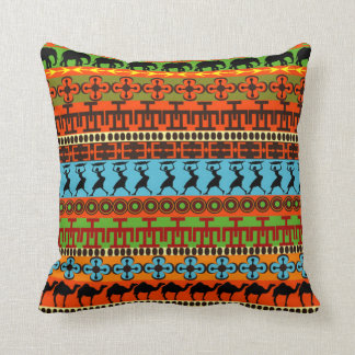 My Roots Kwanzaa Throw Pillow