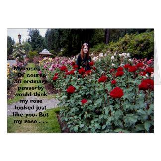 My Rose Card