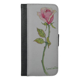 My Rose iPhone 6/6s Plus Wallet Case