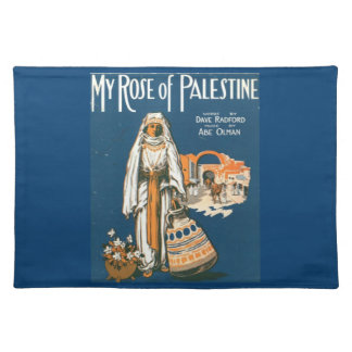 My Rose of Palestine cloth placemat