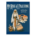 My Rose of Palestine greeting card