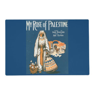 My Rose of Palestine placemat