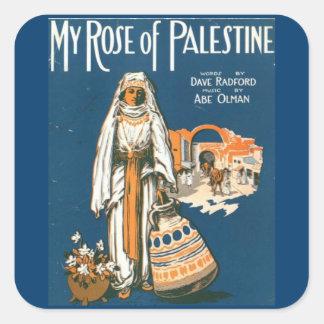 My Rose of Palestine sticker