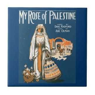 My Rose of Palestine tile