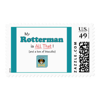My Rotterman is All That! Postage