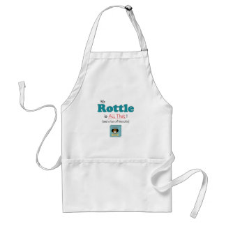 My Rottle is All That! Adult Apron