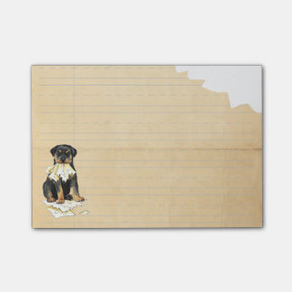 My Rottweiler Ate my Homework Post-it® Notes