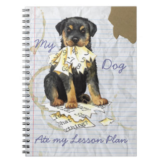 My Rottweiler Ate My Lesson Plan Notebook