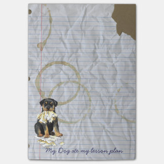 My Rottweiler Ate my Lesson Plan Post-it® Notes