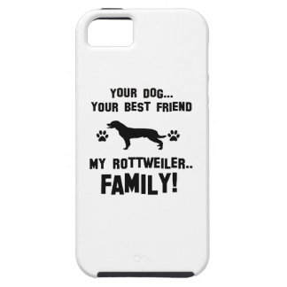 My rottweiler family, your dog just a best friend iPhone 5 covers