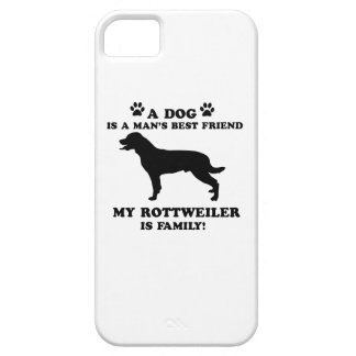 My rottweiler family, your dog just a best friend iPhone 5 case