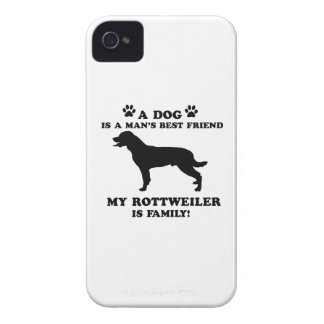 My rottweiler family, your dog just a best friend iPhone 4 cover