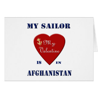 My Sailor, My Valentine Greeting Card