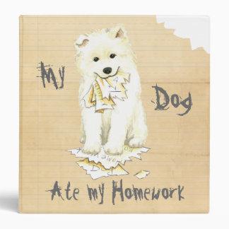 My Samoyed Ate My Homework Binder