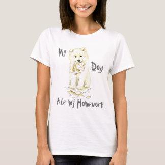 My Samoyed Ate my Homework T-Shirt