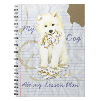 My Samoyed Ate My Lesson Plan Notebook