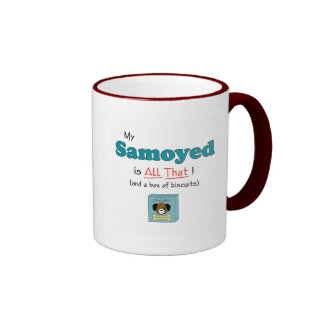 My Samoyed is All That! Coffee Mugs