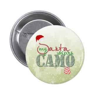 My Santa Wears Camo Pins