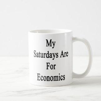 My Saturdays Are For Economics Coffee Mug
