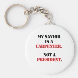 My savior is a carpenter keychain