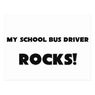 MY School Bus Driver ROCKS! Postcard