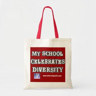 My School Celebrates Diversity Tote Bag